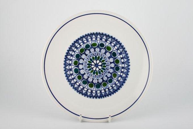 "Burleigh Mosaic Breakfast / Salad / Luncheon Plate 8 7/8"""