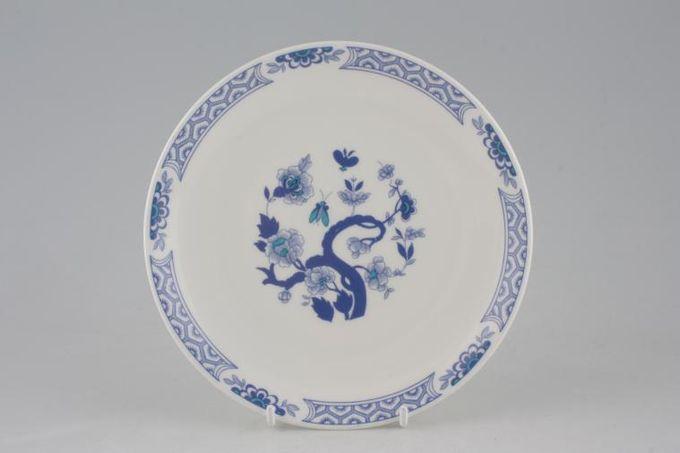 "Tuscan + Royal Tuscan Mandarin - Plain Edge Tea / Side / Bread & Butter Plate 6 1/2"""