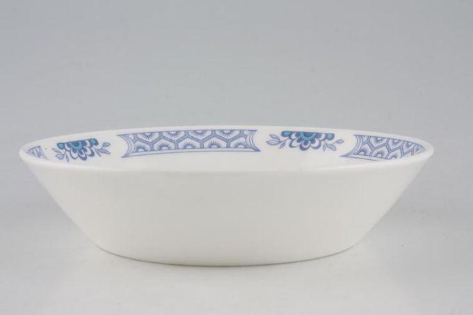 "Tuscan + Royal Tuscan Mandarin - Plain Edge Fruit Saucer 5 5/8"""
