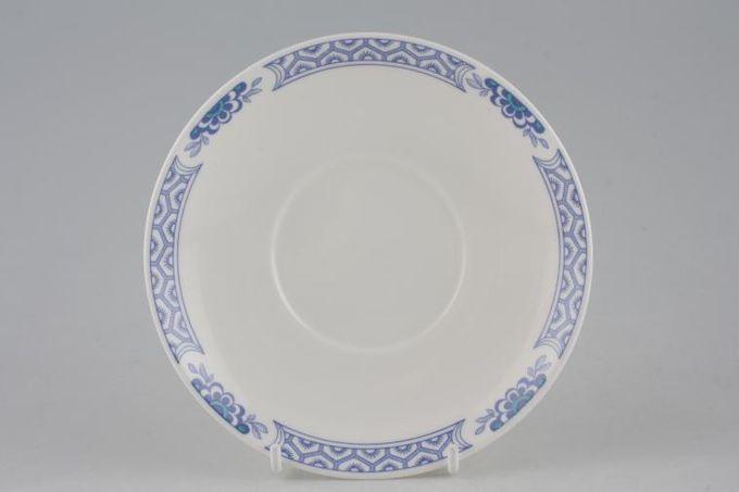 "Tuscan + Royal Tuscan Mandarin - Plain Edge Tea Saucer 5 3/4"""