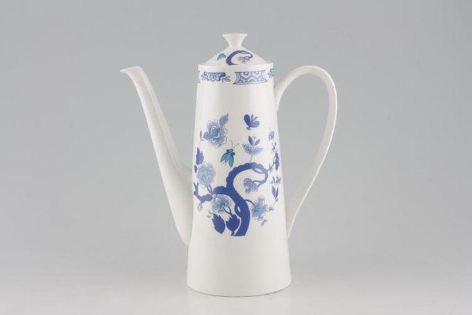 Tuscan + Royal Tuscan Mandarin - Plain Edge Coffee Pot 1 1/2pt