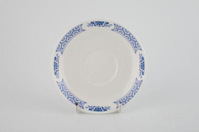 "Tuscan + Royal Tuscan Mandarin - Plain Edge Coffee Saucer 5 1/8"""