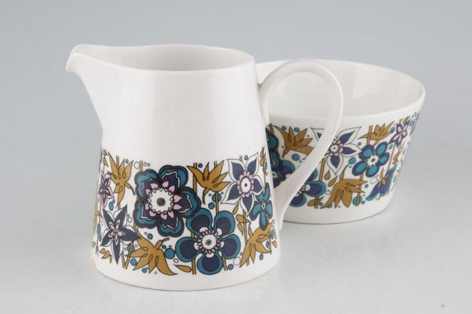 Tuscan + Royal Tuscan Nocturne Milk Jug and Sugar Bowl Set