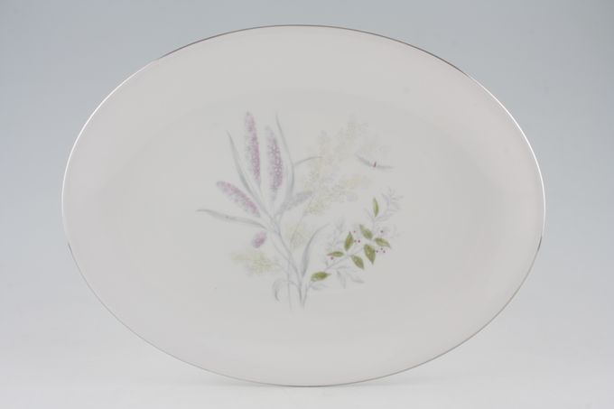 """Tuscan + Royal Tuscan Romney Oval Plate / Platter 13 1/8"""""""