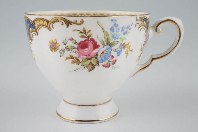 "Tuscan + Royal Tuscan Windsor - blue Teacup 3 1/2 x 2 7/8"""