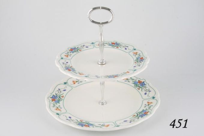 Vintage China Cake Plates & Stands Cake Stand 451 - Royal Albert 'Hamlyn'