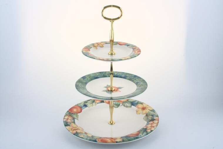 Various - Cake Stands - Cake Stand - 7 - M&S 'Millbrook' Approx.10.5