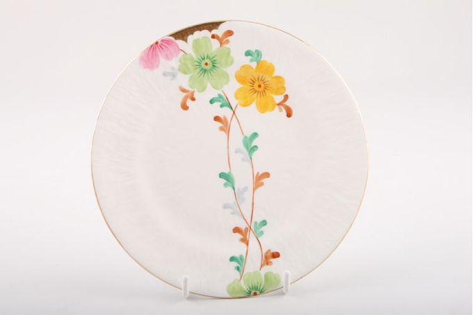 """Vintage China Vintage Tea Set of Tea Plates V333 - Set of 6 tea plates 6 1/4"""""""
