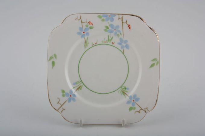 """Vintage China Vintage Tea Set of Tea Plates V384 - Set of 2 tea plates 6"""""""