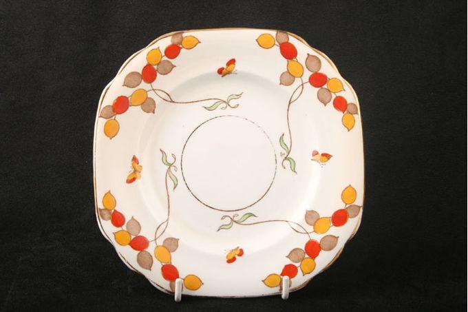 """Vintage China Vintage Tea Set of Tea Plates V520 - Set of 2 tea plates 6 3/4"""""""