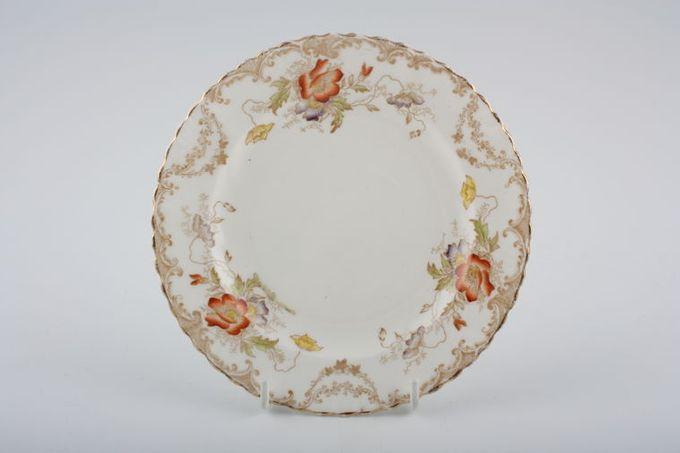 """Vintage China Vintage Tea Set of Tea Plates V549 - Set of 2 tea plates 7"""""""