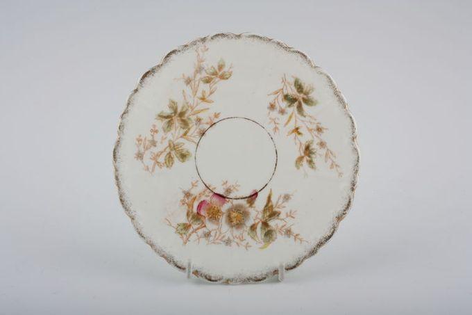 """Vintage China Vintage Tea Set of Tea Plates V596 - Set of 7 tea plates 6 1/4"""""""