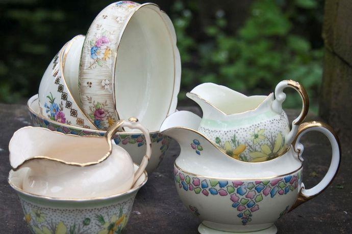 Vintage China Vintage Tea