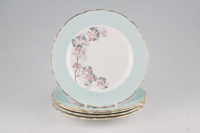 """Vintage China Vintage Tea Set of Tea Plates V151 - Set of 5 tea plates 7"""""""