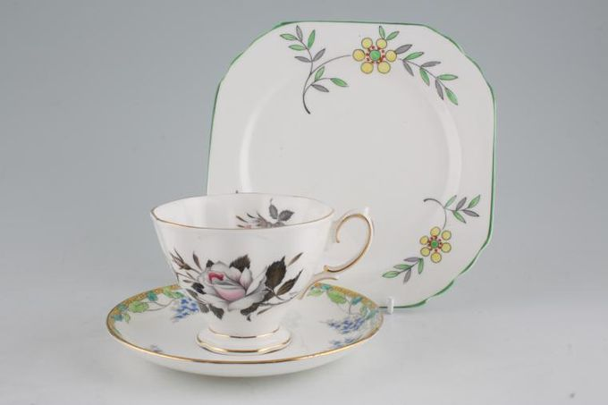 Vintage China Vintage Trios & Duos Mixed Trio M 25