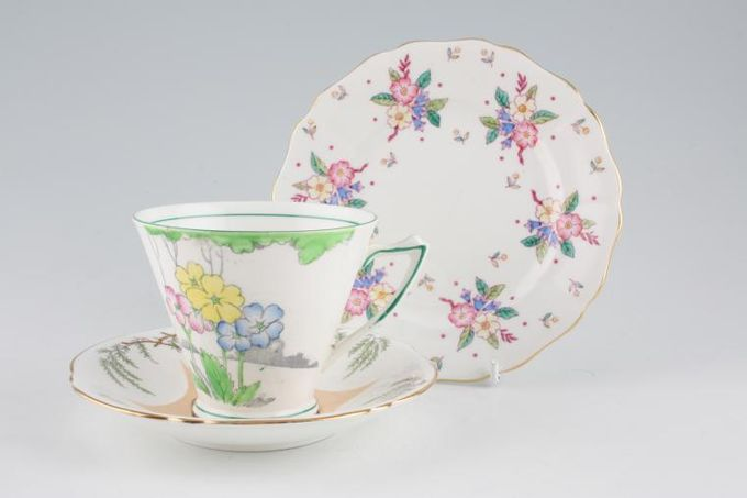 Vintage China Vintage Trios & Duos Mixed Trio M 37
