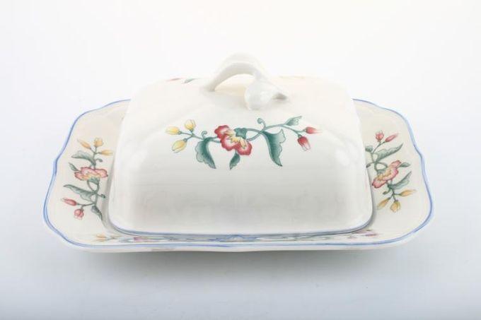 Villeroy & Boch Delia Butter Dish + Lid