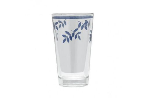 Villeroy & Boch Switch 3 - Old Style Tumbler - Large Summer Drink Collection - Blue Leaves