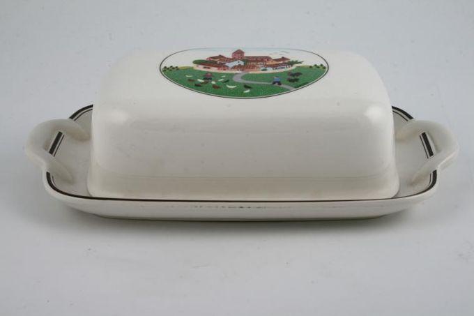 Villeroy & Boch Design Naif Butter Dish + Lid