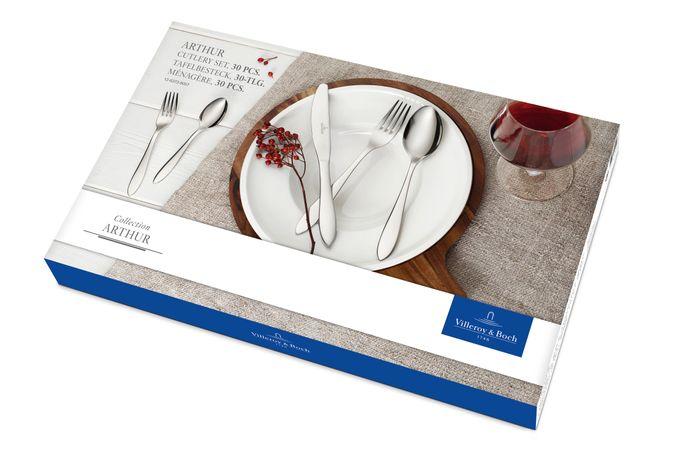 Villeroy & Boch Arthur 30 Piece Cutlery Set