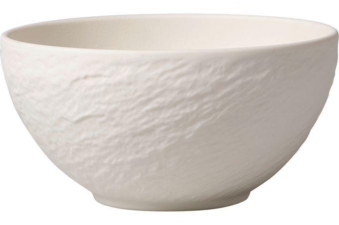Villeroy & Boch Manufacture Rock Blanc Bowl 14 x 7cm