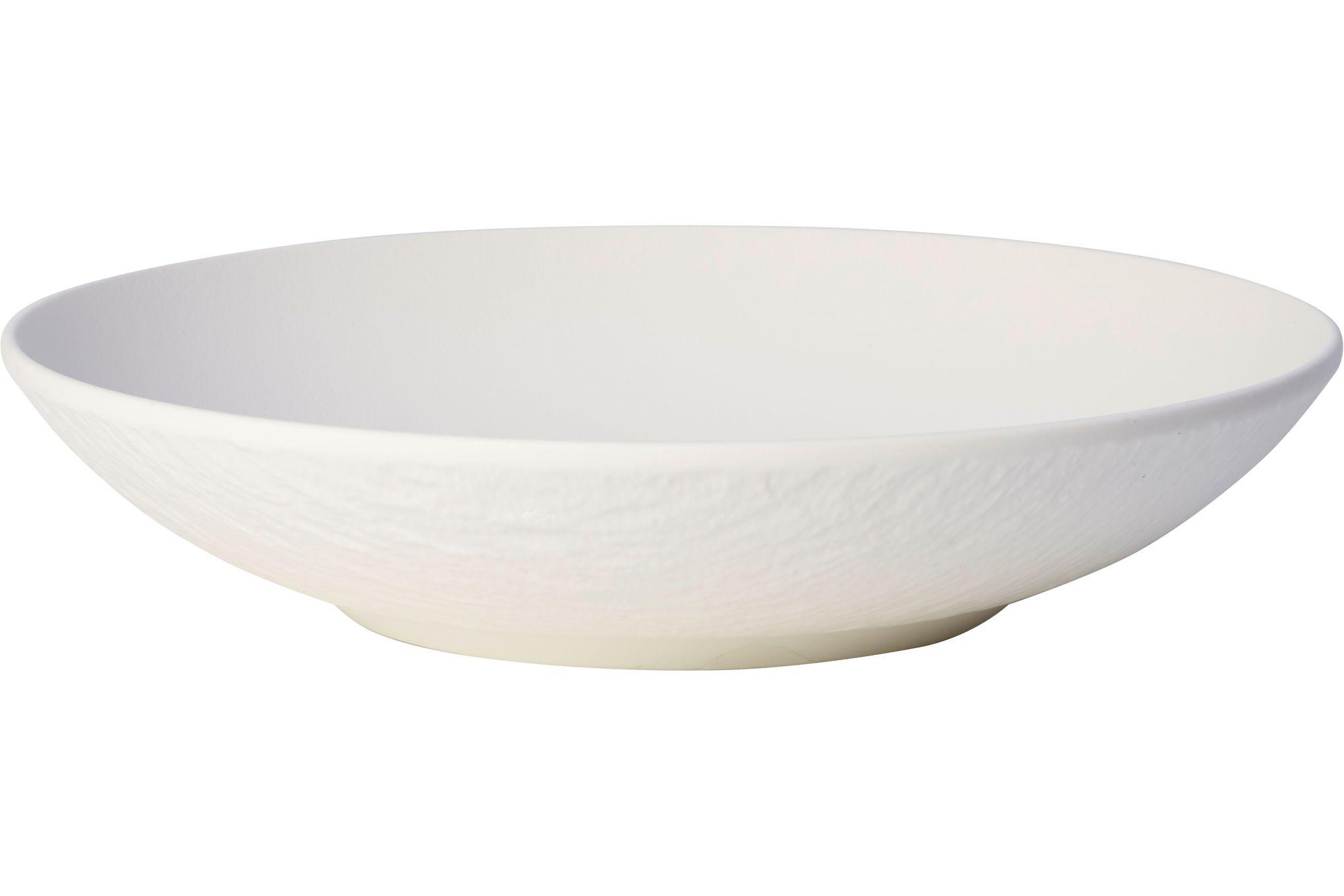 Villeroy & Boch Manufacture Rock Blanc Bowl 24cm thumb 1