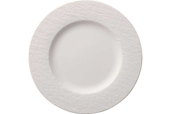 Villeroy & Boch Manufacture Rock Blanc Dinner Plate 27cm