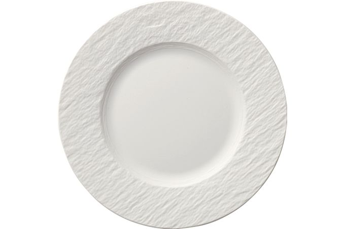 Villeroy & Boch Manufacture Rock Blanc Side Plate 22cm
