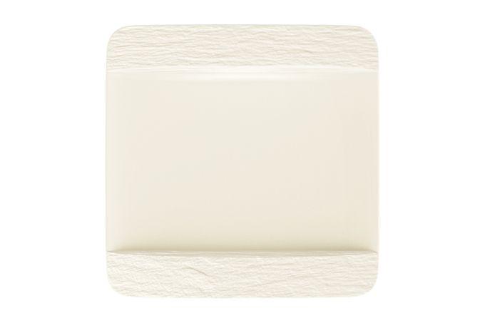 Villeroy & Boch Manufacture Rock Blanc Square Plate 28cm