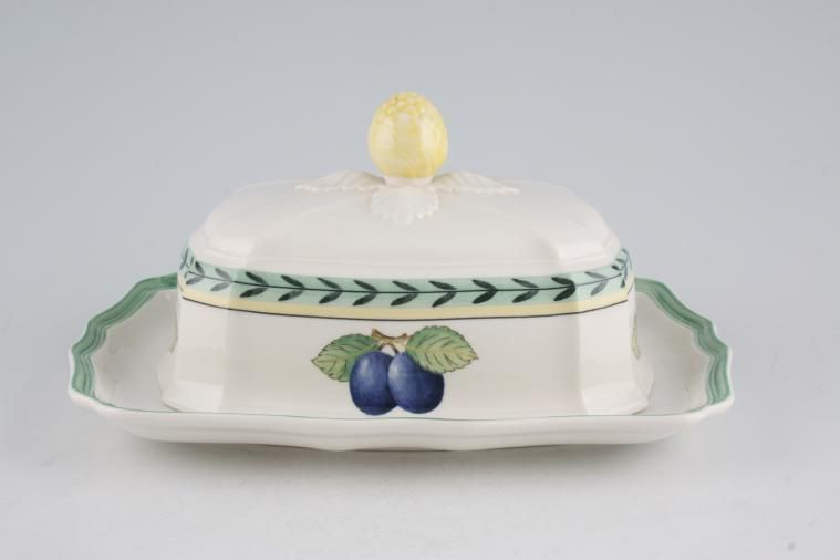 Butter Dish + Lid French Garden By Villeroy U0026 Boch