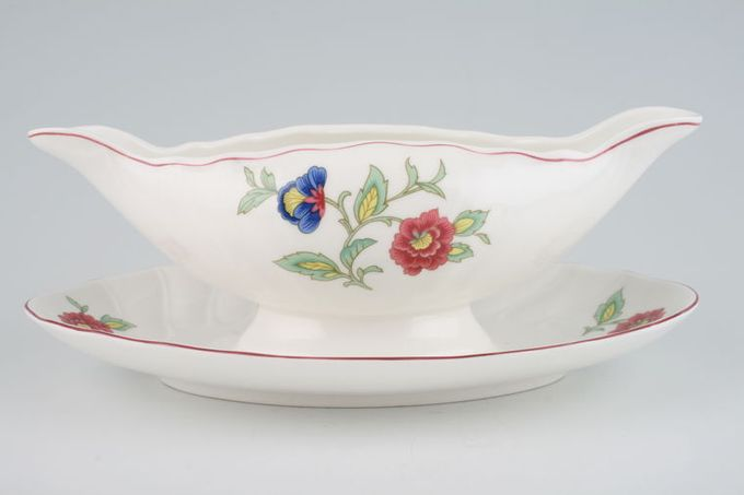 Villeroy & Boch Persia Sauce Boat and Stand Fixed