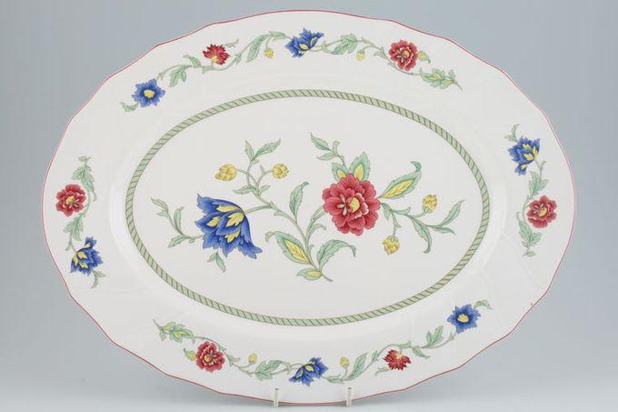 "Villeroy & Boch Persia Oval Plate / Platter 16 3/4"""
