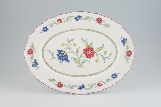 "Villeroy & Boch Persia Oval Plate / Platter 14"""
