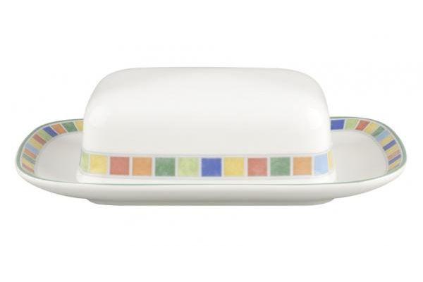 Villeroy & Boch Twist Alea Butter Dish + Lid Caro
