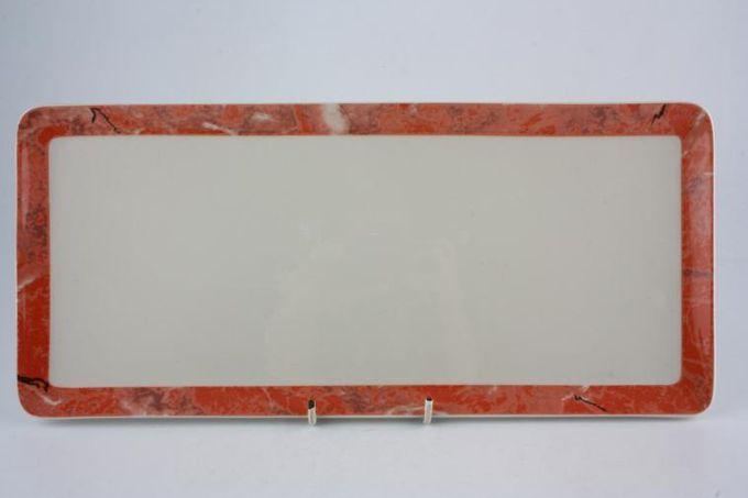 "Villeroy & Boch Siena Sandwich Tray 14 x 6 1/4"""