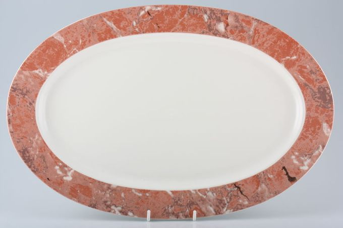 "Villeroy & Boch Siena Oval Plate / Platter 17"""
