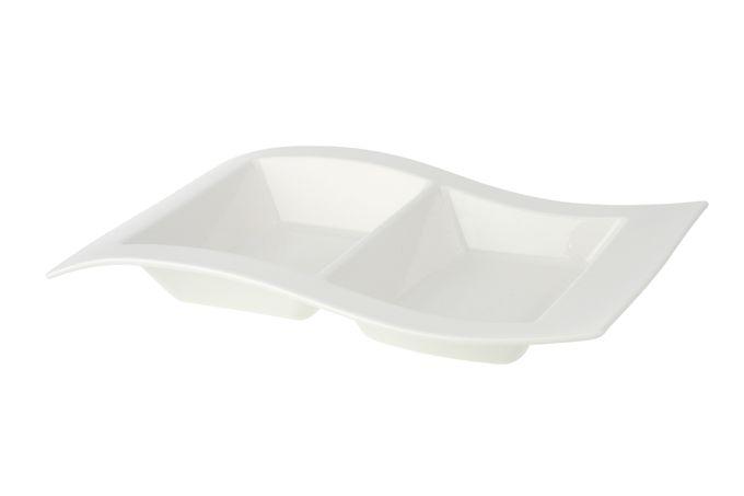 Villeroy & Boch New Wave Platter 2 compartments 31 x 21cm
