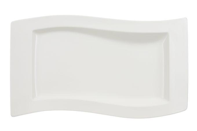 Villeroy & Boch New Wave Oblong Plate / Platter Gourmet Plate 33 x 24cm