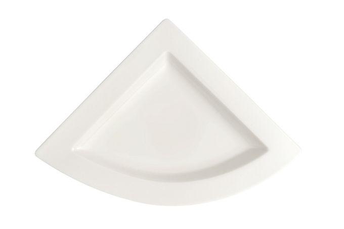 Villeroy & Boch New Wave Plate Triangular Plate 22 x 22cm