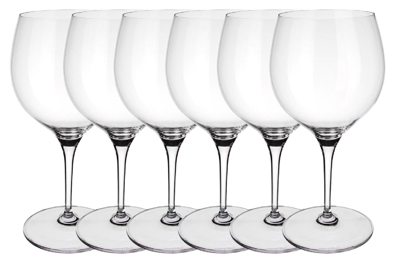 Villeroy & Boch Maxima Set of 6 Red Wine Glasses Burgundy 790ml thumb 1