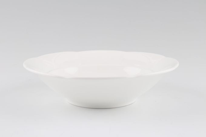 """Villeroy & Boch Damasco Weiss Soup / Cereal Bowl 6 1/8"""""""