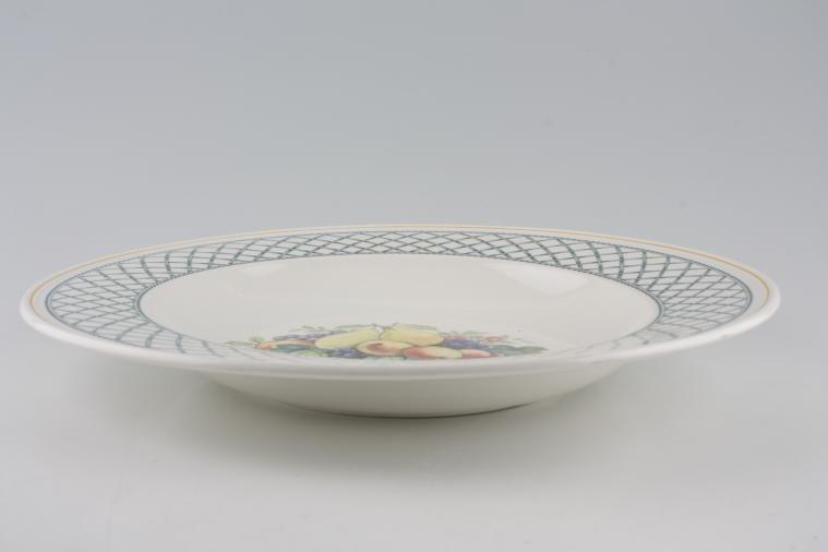 Villeroy & Boch - Basket - Serving Dish - Rimmed, Central Pattern