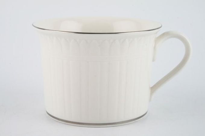 """Villeroy & Boch Palatino - Chateau Collection Breakfast Cup Platin 4 x 2 3/4"""""""