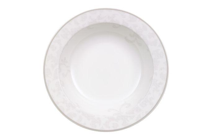 Villeroy & Boch Gray Pearl Rimmed Bowl Salad Dish 20cm