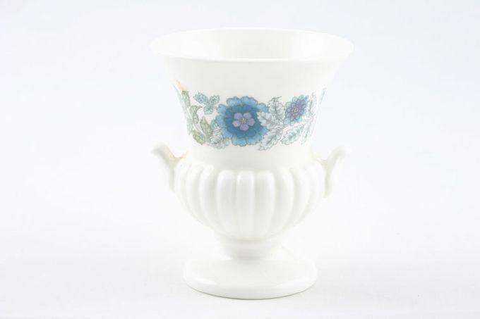 """Wedgwood Clementine - Plain Edge Vase Miniature vase - urn shape 3 1/2"""""""