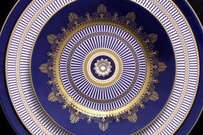 Wedgwood Anthemion Blue
