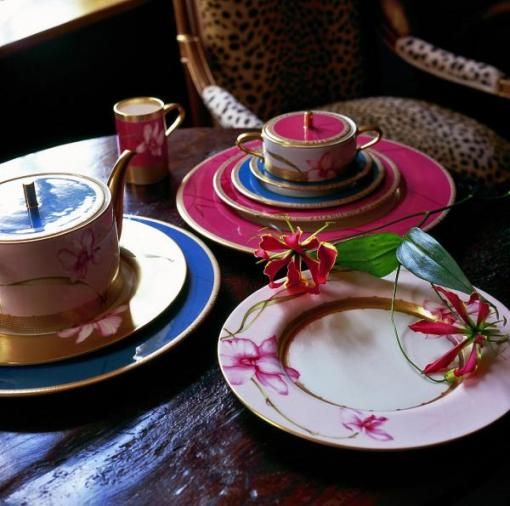 Wedgwood Orchid