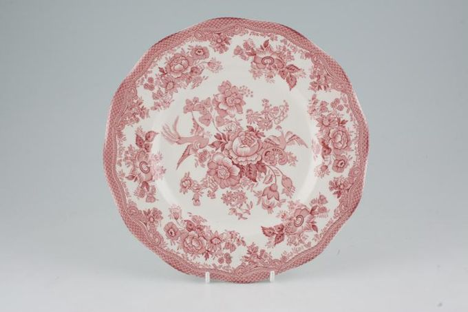 Wedgwood Asiatic Pheasant - Pink - Enoch Wedgwood Breakfast / Salad / Luncheon Plate 8 3/4""