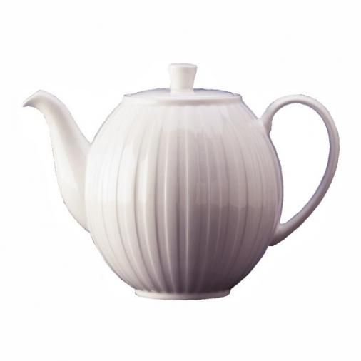 Wedgwood Night And Day Teapot Fluted 2 1/2pt