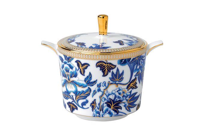 Wedgwood Hibiscus Sugar Bowl - Lidded (Tea)